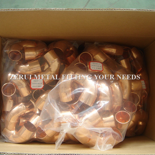 China Wrot Copper Fittings for Refrigeration and AC - China