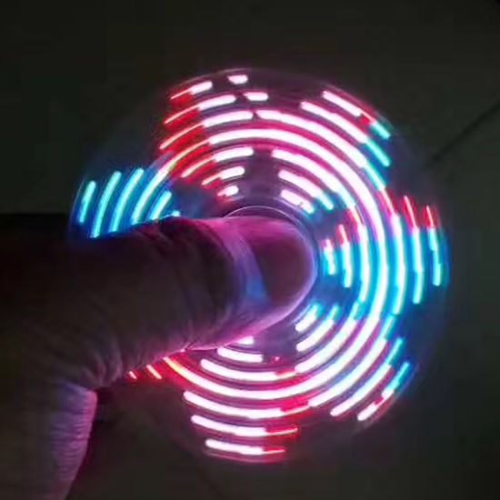 LED Fantasy Spinner Flash Pattern Hand Spinner Fidget Spinner pictures & photos