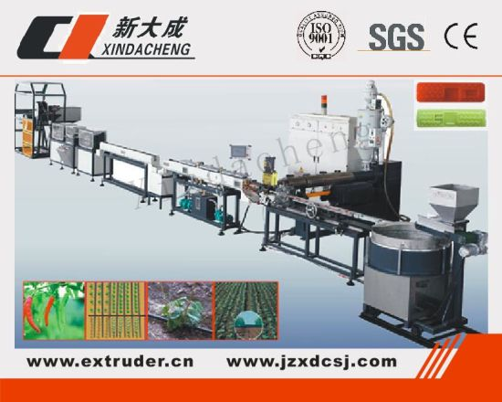 High Speed Inline Cyclindrical/Column Dripper Drip Pipe Production Line pictures & photos