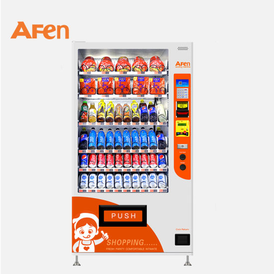 Afen Best Seller Indoor Coin Operated Commodity Automatic Vending Machine