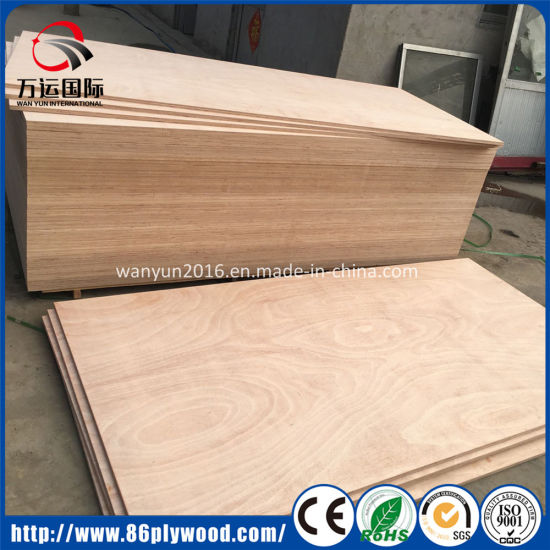 High Quality Pine Birch Poplar Commercial Plywood for Office Home Furniture pictures & photos