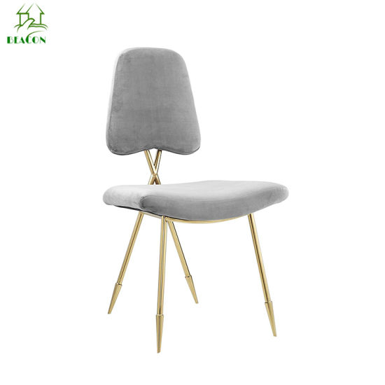 China Modern Cross Back Jonathan Adler Maxime Brass Dining Chair