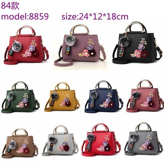 Fashion Cartoon Fur Flowers Ladies Handbag Supplier Korean Letter Love Shoulder Crossbody Manufacturer Customize Logo Quality Brands Yiwu Other Ladies Handbags