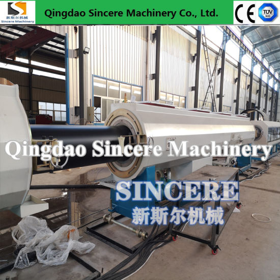 HDPE/PE/PP/Pert/PPR/PVC Water Supply/Drainage Pipe Extruding Machinery, Polyethylene Pipe Extrusion Production Machine Line