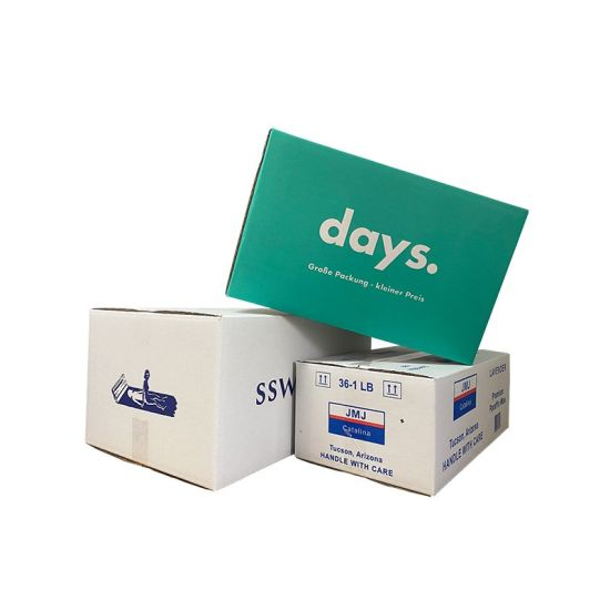 Paper Box Factory Quality Promotional Durable White Small Corrugated Box