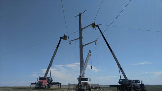 Megatro Line Transmission Steel Monopole5