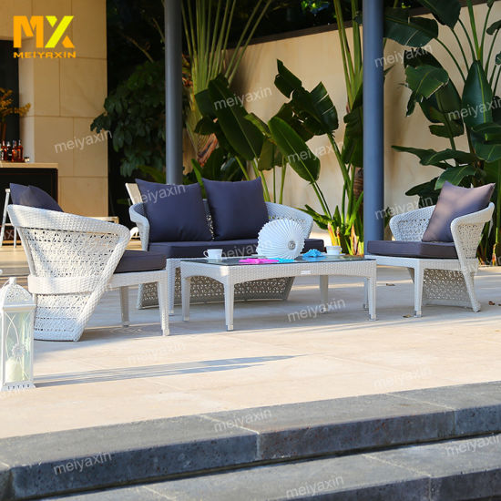 Factory Handmake Rattan Weave Sofa Furniture with Strong Frame