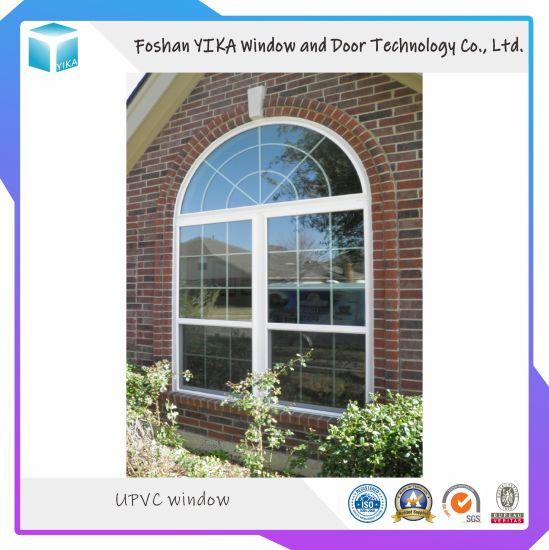 Top Quality European Style Grill Design UPVC/ PVC Casement Window/ Sliding Window