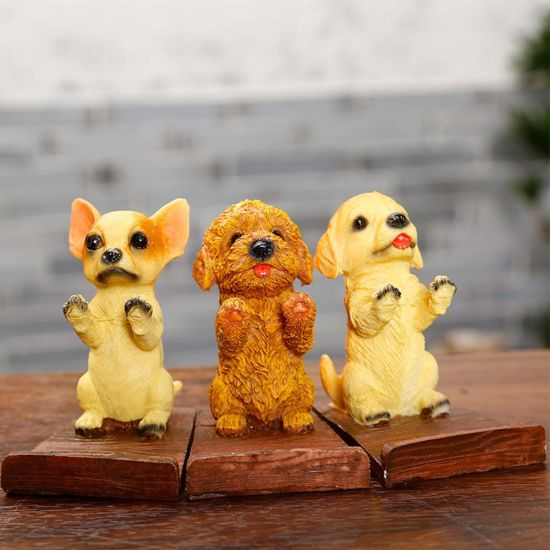 Puppy Dog Cell Phone Stands Smartphone Holder for Desk Golden Retriever pictures & photos