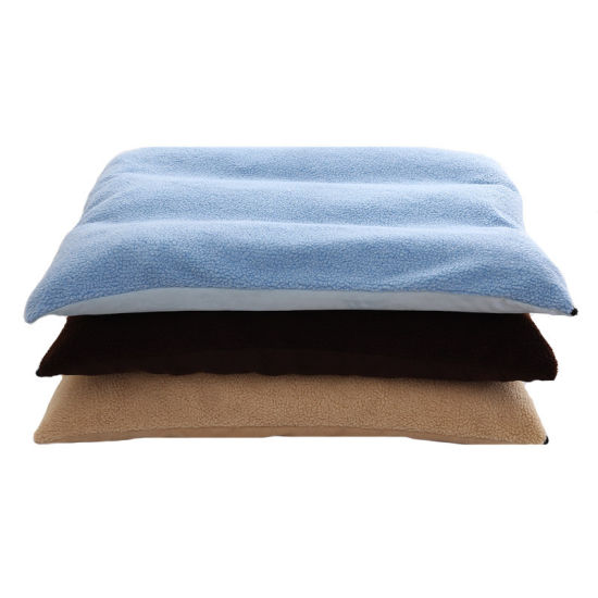 Suede and Plush Spongy Pet Cat and Dog Rest Mat Sleeping Cushion Supply