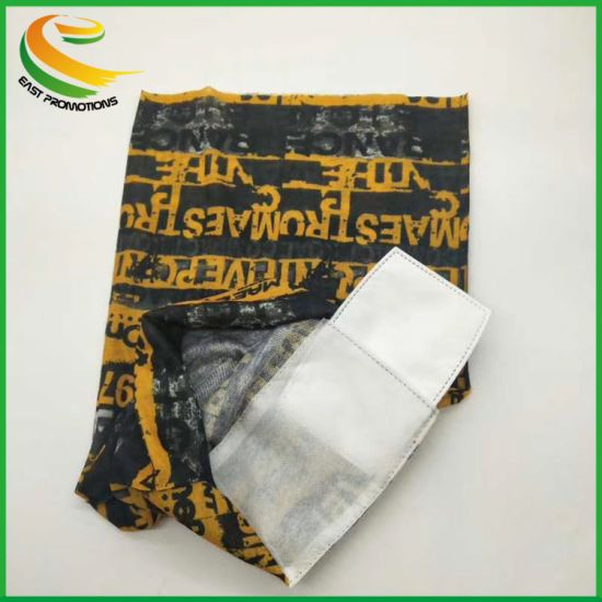 2020 Customized Logo Printed Mask Scarf, Tube Scarf Meltblown Cloth Face Mask for Protective pictures & photos
