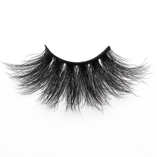 100% Real Mink Fur 3D Mink Lashes 5D 27mm Eyelashes