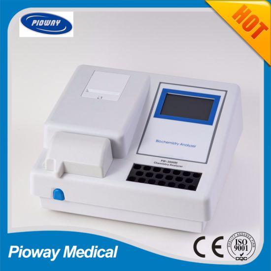 Semi Auto Chemistry Analyzer, Touch Screen, Open System (PW-3000B)
