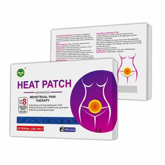 Medical Device Menstrual Period Pain Relief Heat Patch