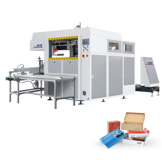 Paper Box Food Carton Erecting Forming Machine with Top Quality