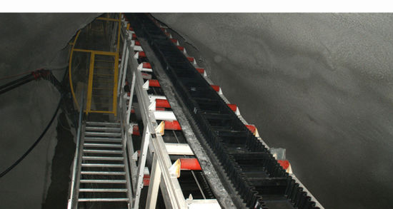 Undulant Walled/Wall Cleat Belt Elevator Conveyor Suppliers pictures & photos