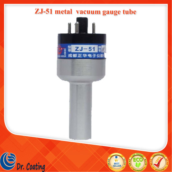 Hot Selling Zj-51 Glass Thermocouple Vacuum Gauge Tube for Vacuum Machine/Zj-51 Metal Vcuum Gauge Tube Price