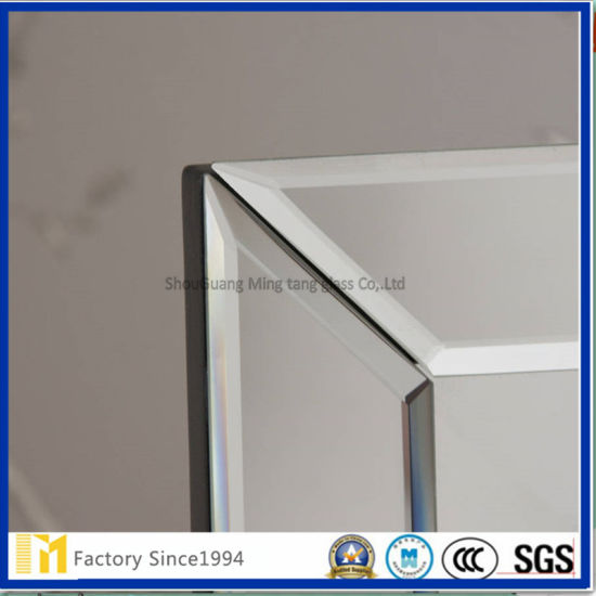 Decorative Frameless Bathroom Mirror Large Whole