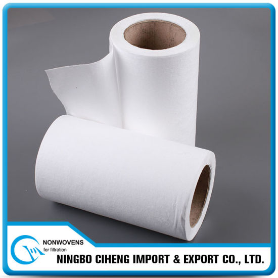 Mask Filter Media China Manufacturer Elastic PP Meltblown Nonwoven Fabric