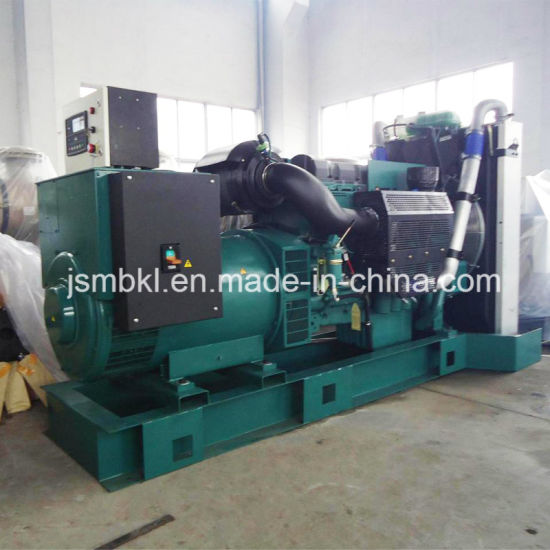 Volvo 300kw/375kVA Open Type Diesel Generating Set Factory Price pictures & photos