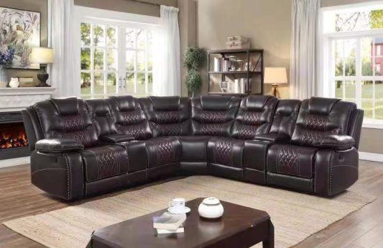 Modern Furniture Reclining Corner Sofa