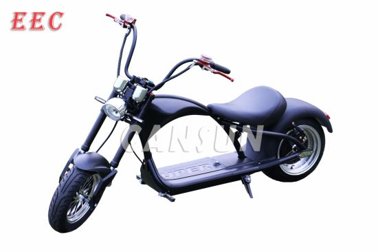 2000W EEC Electric Harley Motorcycle
