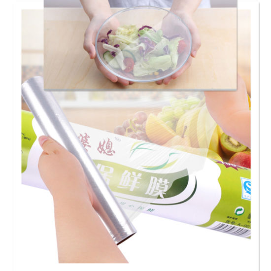PE Food Grade Cling Film for Keep Food Fresh. pictures & photos