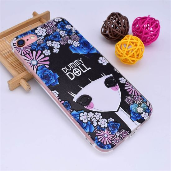 UV Printing Design Case for iPhone 7, TPU / PC Custom Design Case for iPhone 7 Sublimation Phone Case