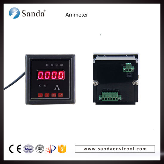 Current Measuring Instruments LED Digital Ammeter pictures & photos