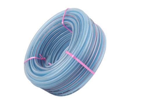 6.0-25mm Fiber Braided PVC Garden Water Hose
