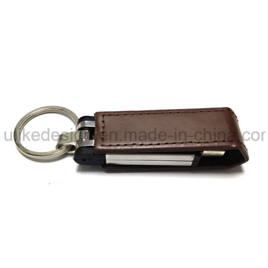 Classic Gift for Promotion Leather USB Flash Drive (UL-L004) pictures & photos