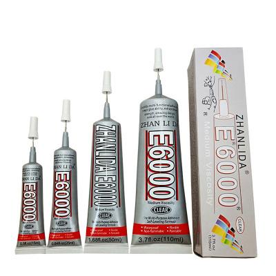 China Accessories Glue T-8000 E6000 B6000 Zhanlida Glue
