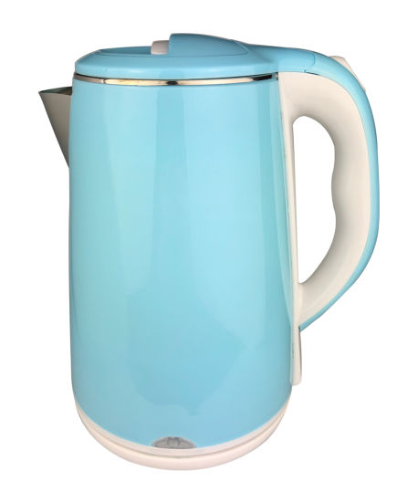New Arrival Light Green Electronic Kettle with Anti-Dry Function 1.8L