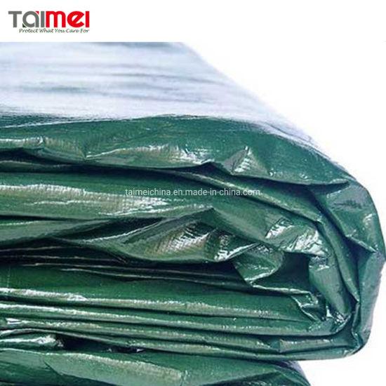250 GSM Waterproof Heavy Duty Polyethylene Fire Proof PE Roofing Cover PE Tarpaulin