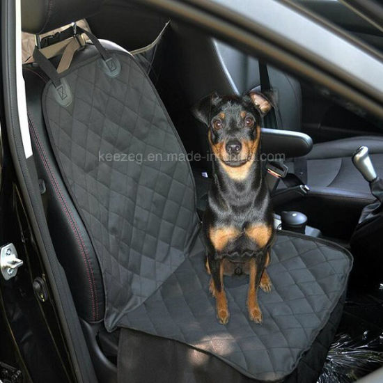 Quality Quilted Pet Dog Seat Cover for Cars/Waterproof for Single Seats (KDS005) pictures & photos