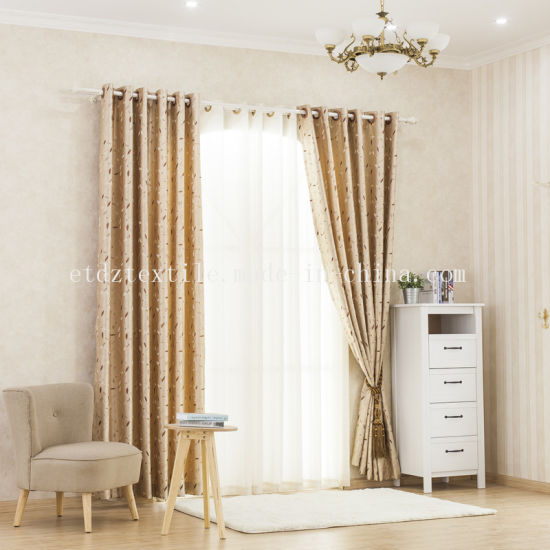 2018 Cantonic Yarn Dyed Fabric Curtain pictures & photos