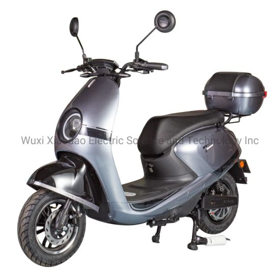 800W/1200W Electric Scooter Motorcycle with Vespa Style