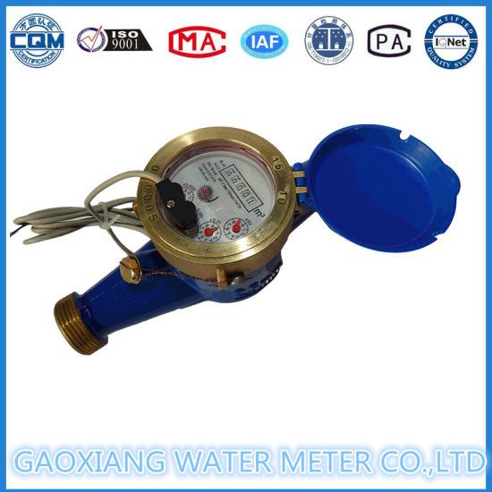Brass Impulse Output Water Meter pictures & photos