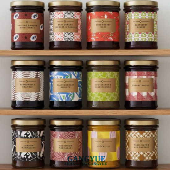 Honey Jam Paste Sauce Canned Fruit Spices Glass Jars