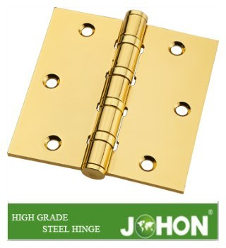 "Steel or Iron Hardware Furnituer Door Metal Hinge (3.5""X3.5"" hinge joint) pictures & photos"