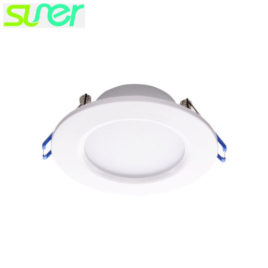 "Recessed LED Ceiling Lighting Iron Downlight 2.5"" 3W 4000K Nature White pictures & photos"