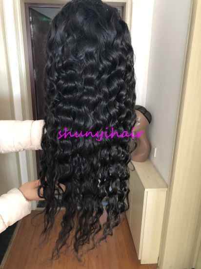 Natural Wave Transparent Lace Full Lace Wig