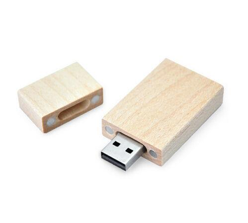 Custom Logo Photography Wood USB 2.0 Memory Stick Flash Drive pictures & photos