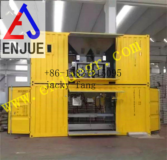 Port Use Mobile Containerized Grains Packing Bagging and Weighting Machine pictures & photos
