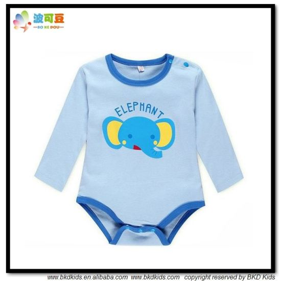 Animal Printing Baby Clothes Long Sleeve Babies Bodysuit