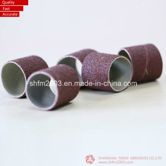 Red Ceramic, Blue Zirconia Sanding Sleeves for Nail Industry pictures & photos