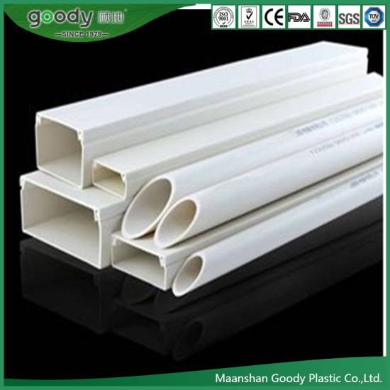 China Pvc Electrical Trunking Systems Cable Laying Trough 75 50mm China Pvc Cable Trunking Pipe And Pvc Pipe Duct Price