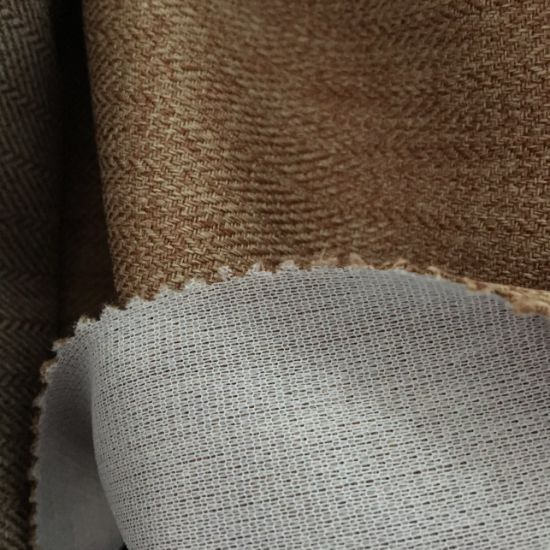 Hzh27 Polyester Linen Hometextile Fabric for Sofa Cushion pictures & photos