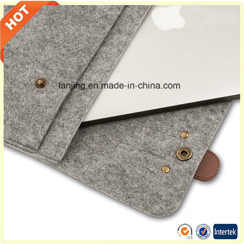 Wholesale Free Sample Wool Felt HP 13/ 15/ 17 Laptop Bag in UK Singapore pictures & photos