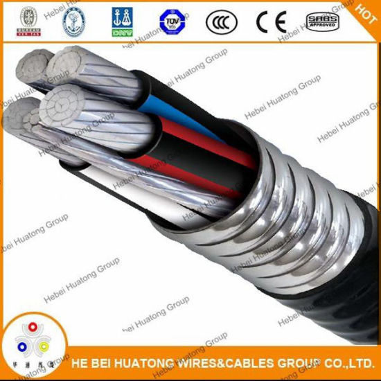 China UL1569 Type Xhhw-2 Wire Conductor Metal Clad Cable Type Mc ...